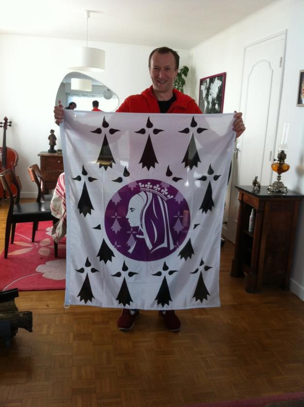 Mikael Bodlore-Penlaez, dessinateur de la bannière Anne de Bretagne 2014